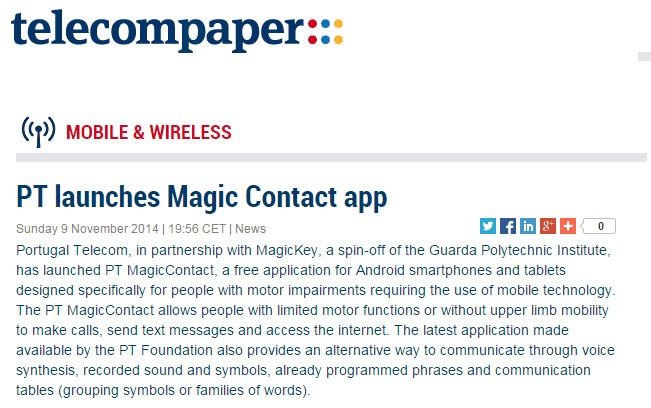 PT launches Magic Contact app